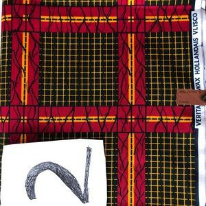 Other - African fabric 6yrds for clothing.